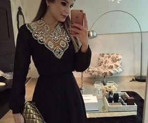 dress, elegant, and short dress image