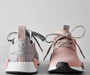 adidas, pink, and grey image