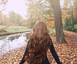 autumn, بُنَاتّ, and fantasy image