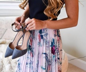 fashion, high heels, and style image