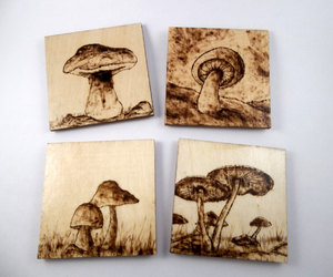 coasters, etsy, and home decor image