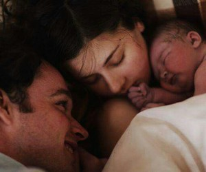baby, laugh, and family image