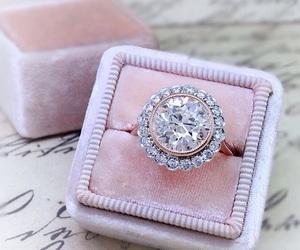 bride, diamond, and fashion image
