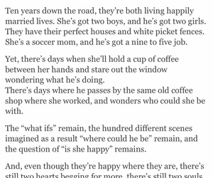 coffee shop, heartbreak, and her image