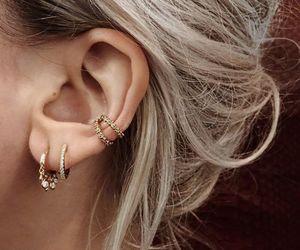 beautiful, jewelry, and earcuff image