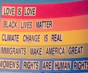 love, equality, and rights image