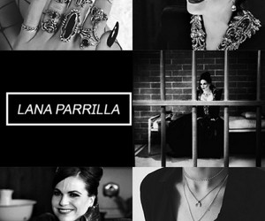black, lana, and nails image