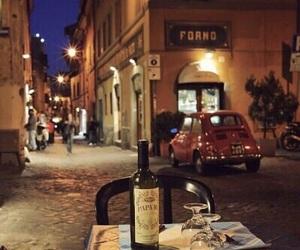 street and wine image