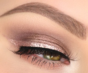 rose gold and makeup image