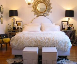 bedrooms, decor, and girly image