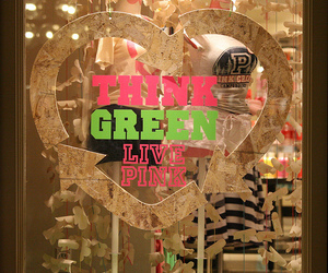 green and pink image