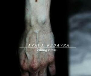 avada kedavra, harry potter, and spell image