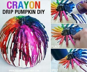 diy, crafts, and crayon image