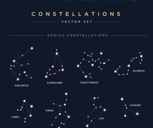 stars, constellation, and sky image