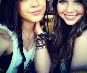 stella hudgens and sammi hanratty image