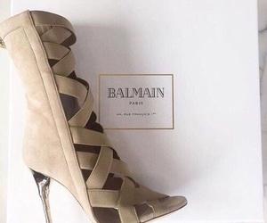 Balmain, heels, and shoes image
