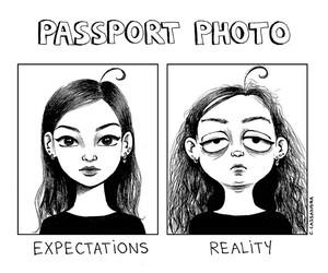 reality, funny, and comic image