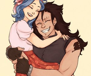 levy, fairy tail, and gale image