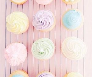 pastel, cupcake, and pink image