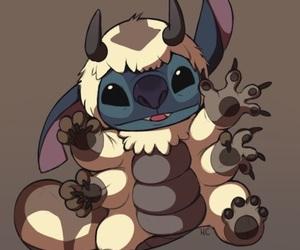 stitch, avatar, and appa image