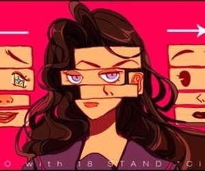 jojo's bizarre adventure and yukako yamagishi image