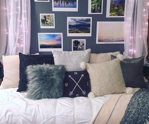 decor, grey, and room image