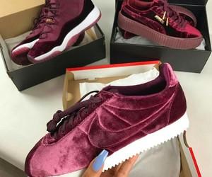 shoes, nike, and puma image