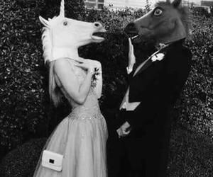 unicorn, Prom, and horse image