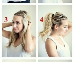 hair, hair style, and style image