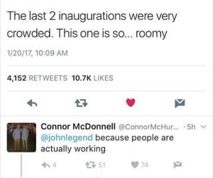 funny, inauguration, and john legend image