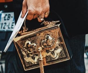 art, bag, and clutch bag image