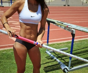 fit, girl, and sport image