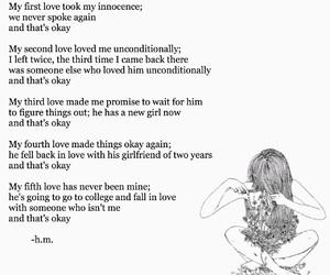 boy, girl, and heartbreak image