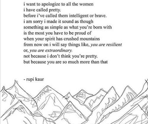 quotes, rupi kaur, and woman image