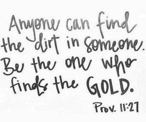 quotes, gold, and bible image