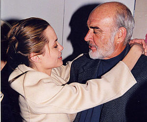 Angelina Jolie, fashion, and Sean Connery image