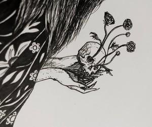 caress, flower, and grow image
