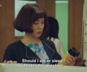 age of youth, kdrama, and eat image