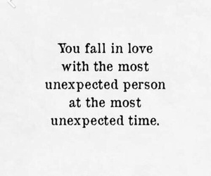 quotes, unexpected, and love image