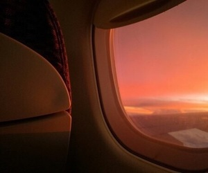 peach, orange, and sunset image