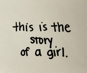 girl, quote, and story image