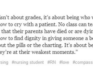 nurse, nursing, and quote image
