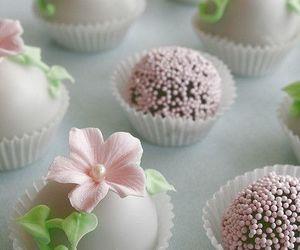 chocolate, dessert, and flower image