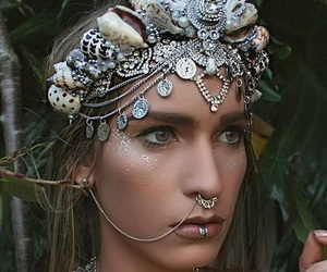 cool, gypsy, and head dress image
