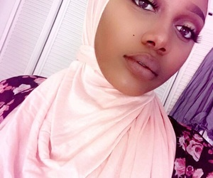 muslim, makeup goals, and hijâbi image