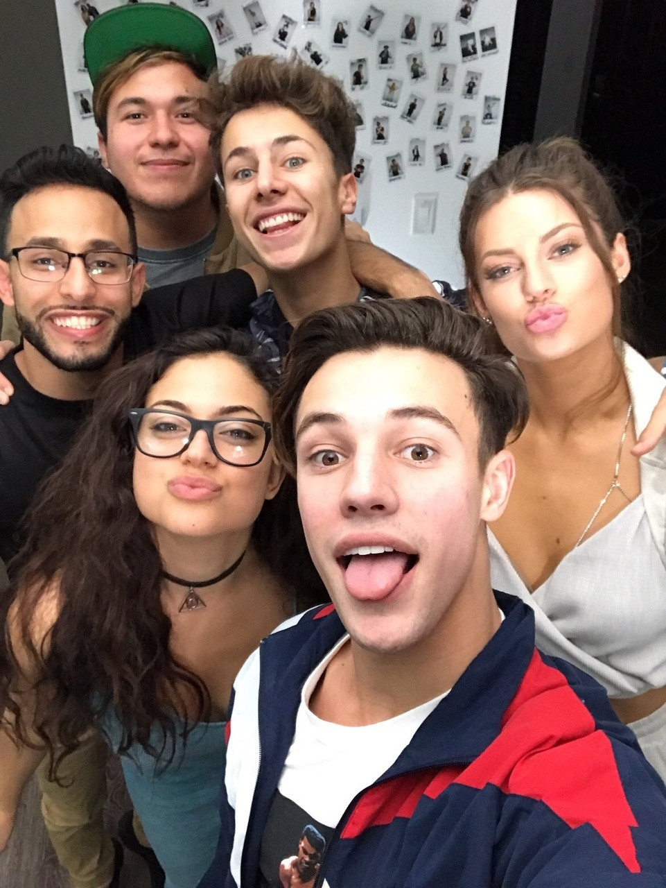 cameron dallas, hannah stocking, and inanna sarkis image