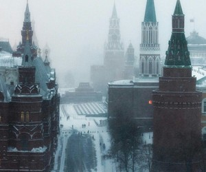 city, kremlin, and moscow image