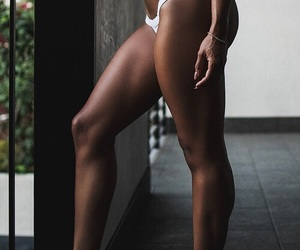 ass, brunette, and healthy image