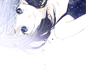 anime, anime girl, and stars image