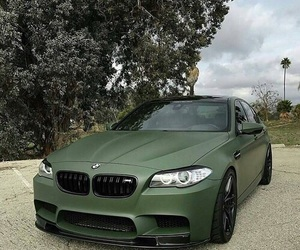 bmw, car, and green image